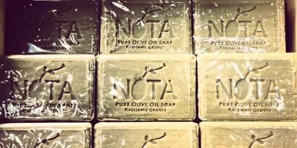 Nota's Olive Oil Soap